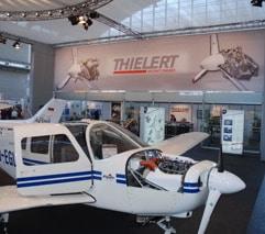 Cessna C172 équipé du moteur Centurion 1.7 de Thielert
