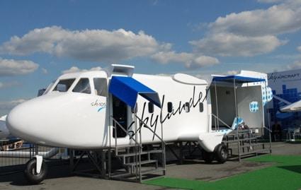 Skylander SK-105 au salon du Bourget