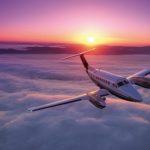 Le Beechcraft King Air 350i est équipé de l'avionique Collins Pro Line 21