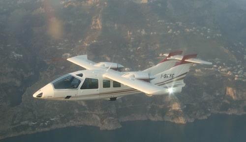 Skycar d'OMA Sud est propulsé par deux moteurs de 200 cv