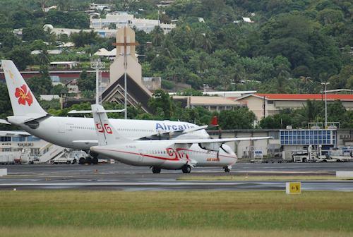 L'aéroport de Tahiti - Faa'a accuse un recul de -10,7% en 2009.