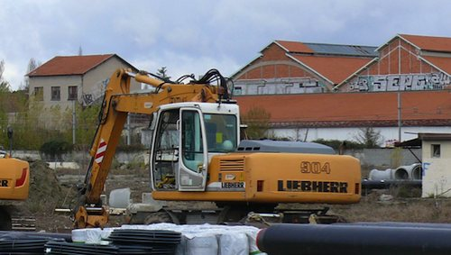 Les travaux de terrassement ont débuté sur l'ancien aérodrome Toulouse-Montaudran.