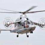 Avec le X3 Eurocopter vise une vitesse de croisière de 220 KT