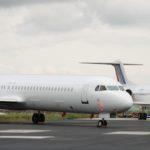 Le retrait des Fokker 100 de la flotte de Britair a débuté durant l'été 2010. Il s'achèvera à l'automne 2011 avec la livraison du dixième CRJ1000 NextGen