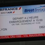 22 décembre 2010, entrée en service du CRJ1000 NextGen sous les couleurs de Britair