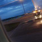Baptême pour le CRJ1000 NextGen de Britair à son arrivée à Lyon-Saint Exupéry par les pompiers de l'aéroport lyonnais