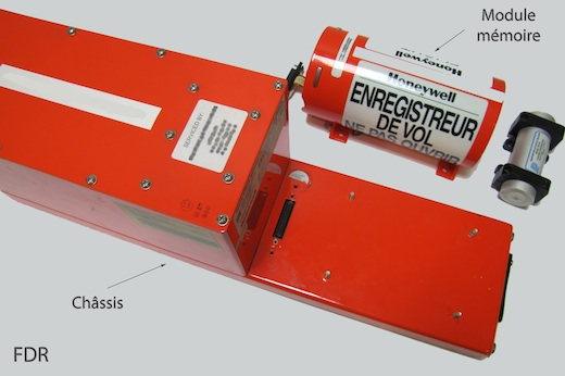 Un enregistreur de paramètres de vol