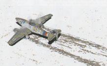 Un Me262 crashé en Poméranie