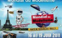 45.000 visiteurs attendus au Mondial du modélisme 2011