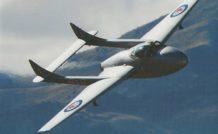 De Havilland DH-115 T.55 Vampire de la New Zealand Warbird Association photographié au meeting aérien de Wanaka (Nouvelle Zélande) en avril 2010