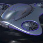 Une vue d'artiste de l'AVAV, Aéronef à Décollage et Atterrissage Vertical, de Mix Aerospace