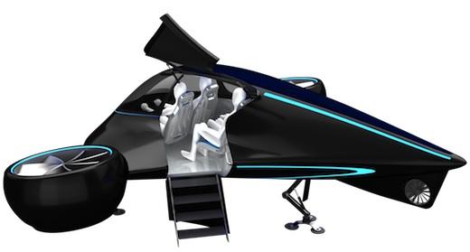 La voiture volante modulaire imaginée par Mix Aerospace