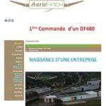 Sur la page d'accueil du site d'Aerofinch on peut voir les ateliers sur l'aérodrome de Dijon-Darois