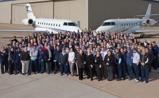 La flotte des 250 Gulfstream G200 totalise 581.000 heures de vol en 14 ans.
