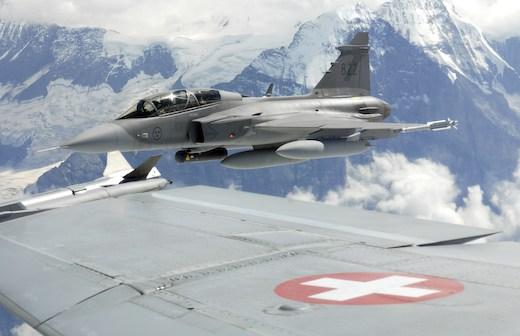 La Suisse a finalement renoncé à se doter de Saab JAS39 Gripen
