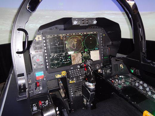 F 15 Cockpit L'ombre du F15 Silen...