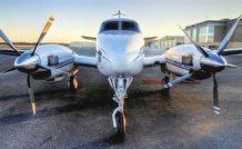 Aeromecanic va gérer la certification des turbines GE M601 et H80 sur le Beech 90