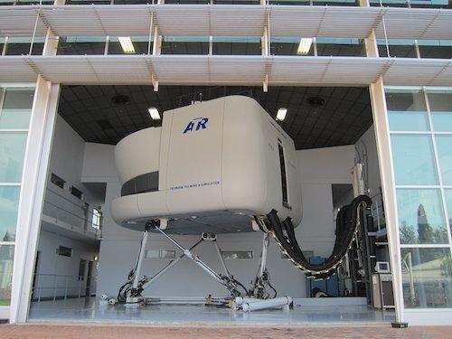 Le simulateur d'ATR est localisé à Johannesburg