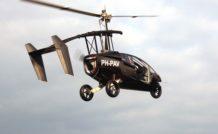 La voiture-volante Pal-V a effectué son premier vol fin mars 2012
