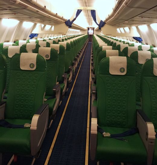 Transavia vol for Interieur avion ryanair