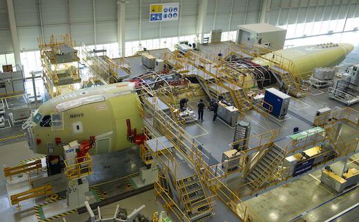 L'assemblage final de l'A400M MSN9 destiné à la Turquie a débuté en juin 2012
