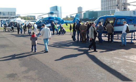 En 2011, pour la première, 500 curieux ont visité l'héliport de Paris