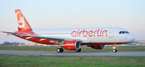 A l'occasion du salon ILA 2010, Air Berlin a pris livraison de son 50ème Airbus A320