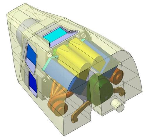 Sur un hélicoptère léger, le diesel réduit la consommation de carburant mais reste plus lourd qu'un turbomoteur.