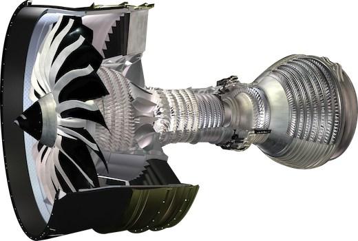 Sur le moteur Leap-1A, qui équipera l'Airbus A320neo, la soufflante possède 18 aubes – moitié moins que le CFM56 actuel.