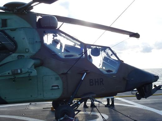 Le Tigre HAD, un hélicoptère de combat ultra moderne  qui se pilote comme un jouet ; il  est caractérisé par une agilité et une polyvalence hors pair.