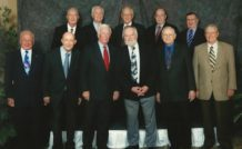 Retrouvailles au banquet du 40ème anniversaire de la mission Apollo 17