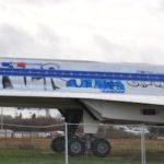 Dans la nuit du 18 au 19 décembre 2012, le Concorde a été tagué. La nuit suivante c'était le Mercure et le Mirage III B.