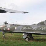 Le Mirage IIIB a également été victime des vandales.