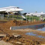 Une voie de circulation partagera en deux l'aire d'exposition du musée Delat d'Atis-Mons