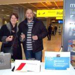Le 8 millionième passager de 2012 à Marseille-Provence