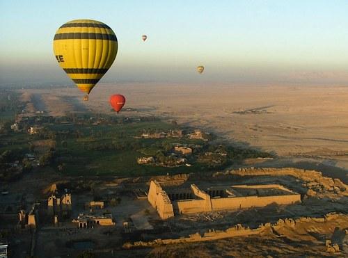 montgolfiere egypte