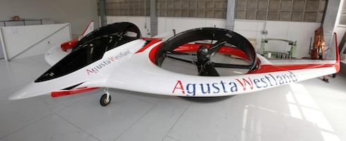 Project Zero, un convertible a double rotor basculant caréné.