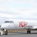 Le premier CRJ1000 de Britair aux couleurs de Hop!