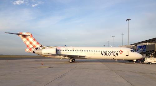 Volotea base deux Boeing 717 à Bordeaux-Mérignac