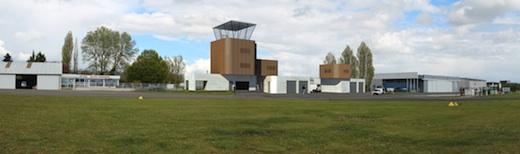 La livraison des nouvelles installations de l'aéroport Blois-Le Breuil est prévue pour fin octobre 2013