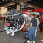 Le futur Bell 47GT-6 (turbine RR300) sera développé sur la base du sera basé sur le Bell 47G-3B-2A (ci-dessus)