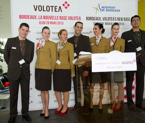Equipage commercial Volotea
