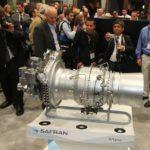 Le moteur TM800 Arrano de Turbomeca (Safran) dont la première application commerciale sera le futur hélicoptère X4 d'Eurocopter