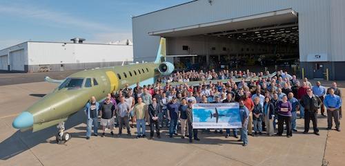Cessna a lancé son nouveau Citation Sovereign, il y a 5 mois à la convention NBAA2012