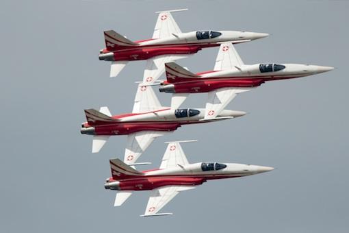La patrouille Suisse équipée de se F5 Tiger vivra t'elle avec cet avion  l'une de ses dernières présentation en France ?
