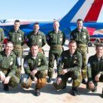 L'équipe des pilotes de l'année du 60ème anniversaire autour de son leader.