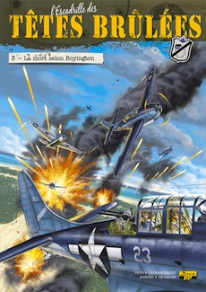 L'escadrille des Têtes brûlées. T3 La mort selon Boyington.