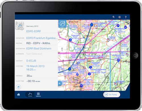 Pour son appli iPad VFR, Jeppesen est parti d'une feuille blanche afin de tirer parti des possibilités de la tablette