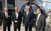 Inauguration du Systemhaus d'Eurocopter