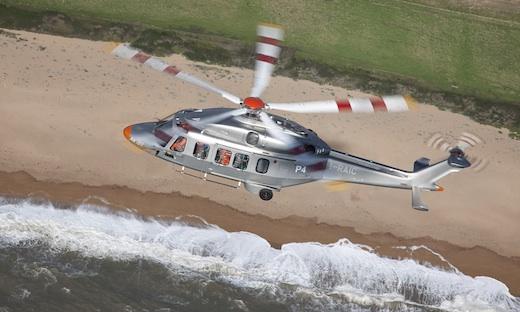 L'AgustaWestland AW189 vise la desserte des plates-formes pétrolières offshore.